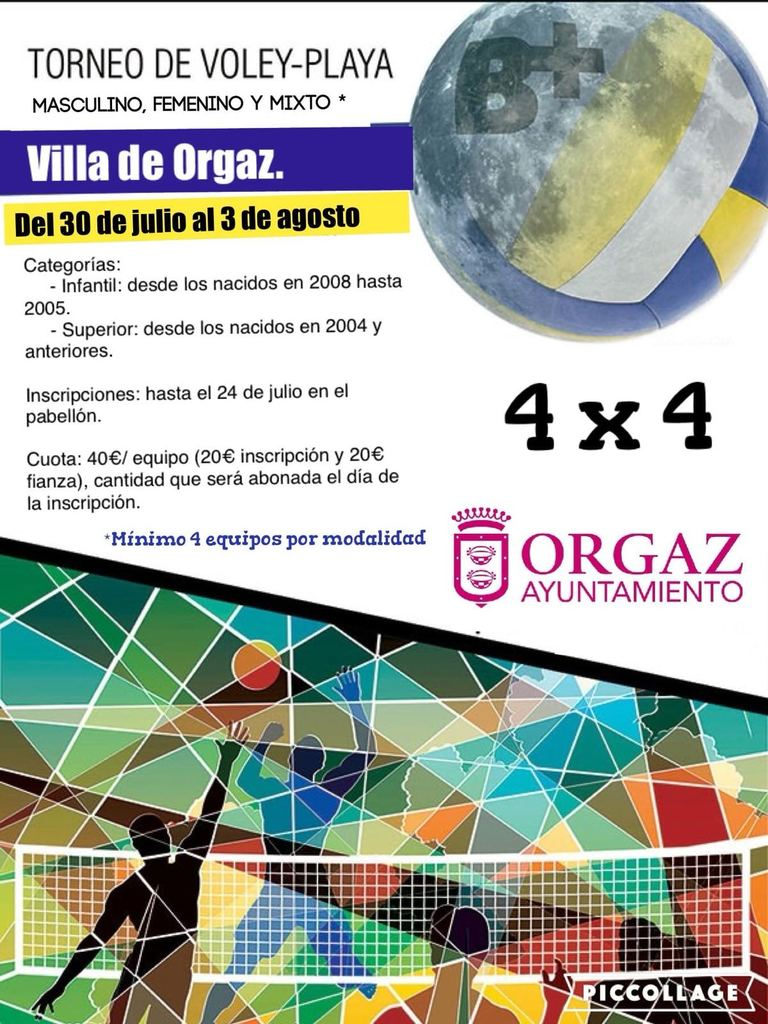 TORNEO DE VOLEY-PLAYA