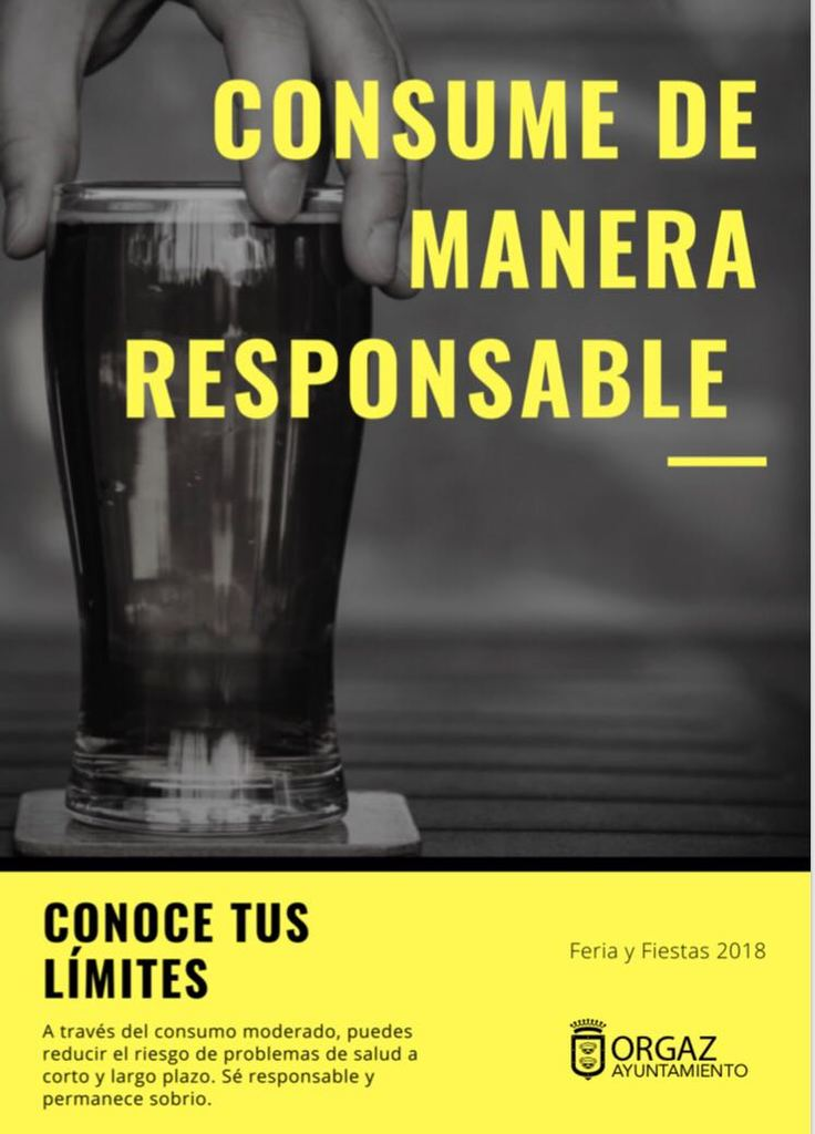 Consume de manera responsable