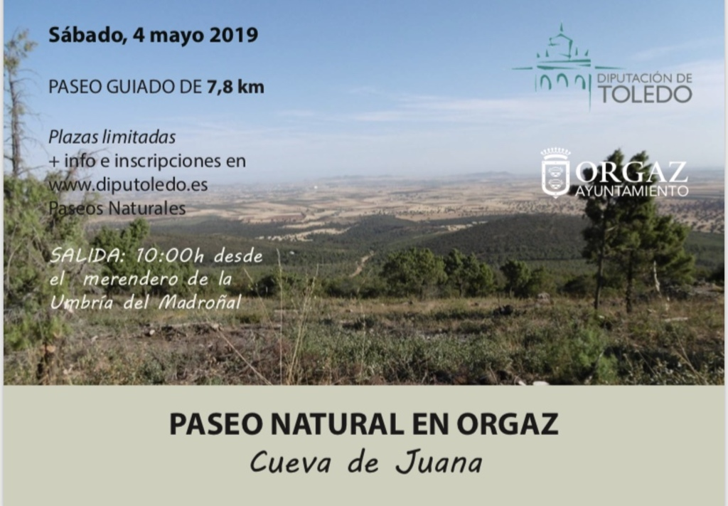 Paseo Natural en Orgaz