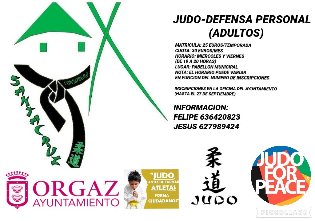 Apúntate a Judo/Defensa Personal