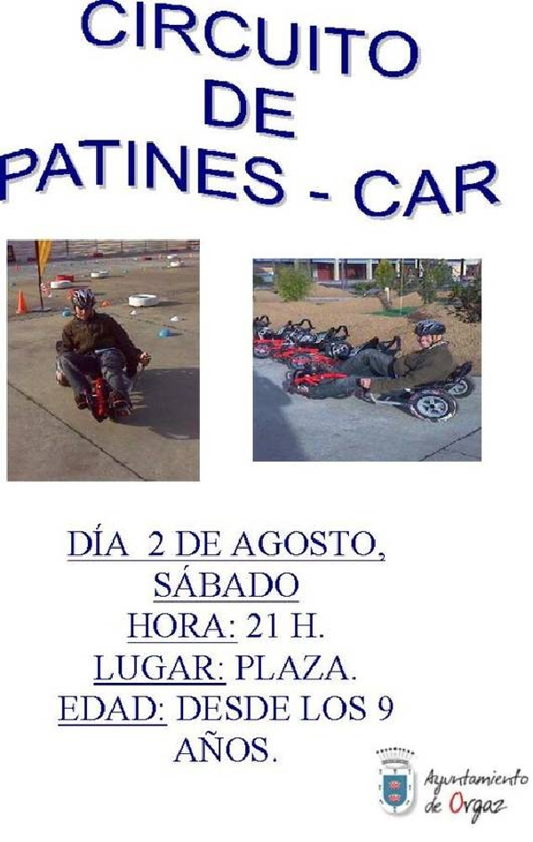 PATINES-CAR