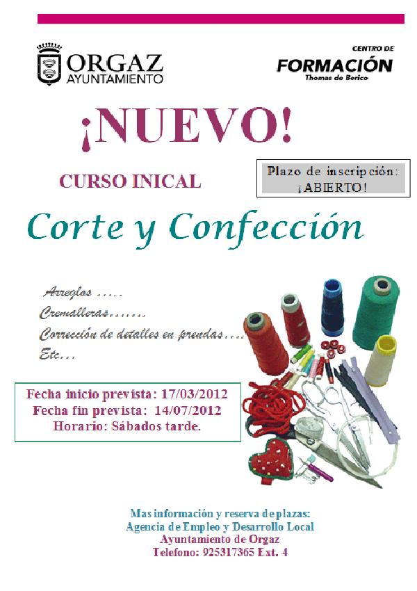 10e73da31820 CURSO CORTE Y CONFECCIÓN